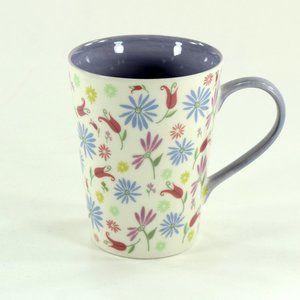 Starbucks Pastel Spring Flowers Mug, Lavender